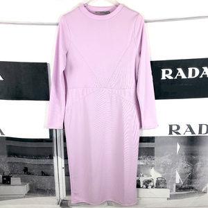 asos Lavender Purple Long Sleeve Dress NWT